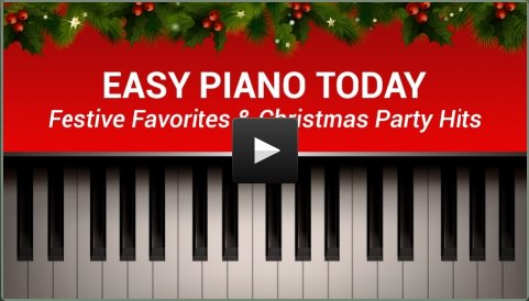 """udemy.com 免费课程 Easy Piano Today - Festive Favorites & Christmas Party Hits丨""""反""""斗限免"""
