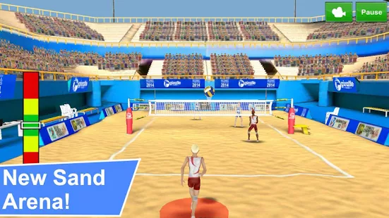 Volleyball Champions 3D 2014 - 3D 打排球[Android]丨反斗限免