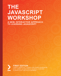 免费获取电子书 The JavaScript Workshop[$27.99→0]