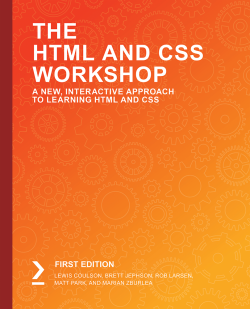 免费获取电子书 The HTML and CSS Workshop[$24.99→0]