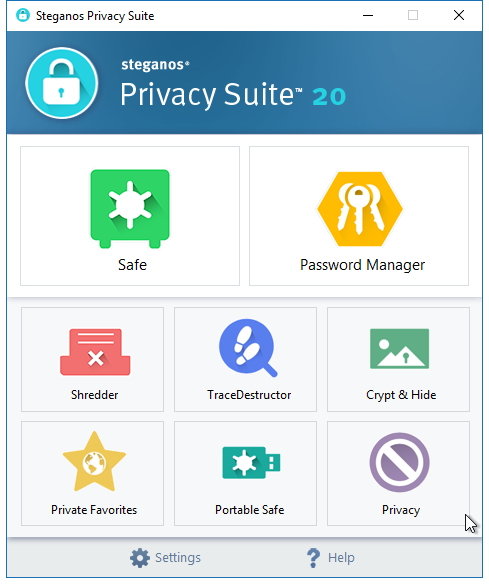 Steganos Privacy Suite 20 – 数据安全软件[Windows][$59.95→0]