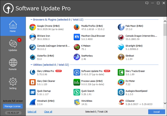 免费获取一年 Glarysoft Software Update Pro 授权[Windows][$19.95→0]