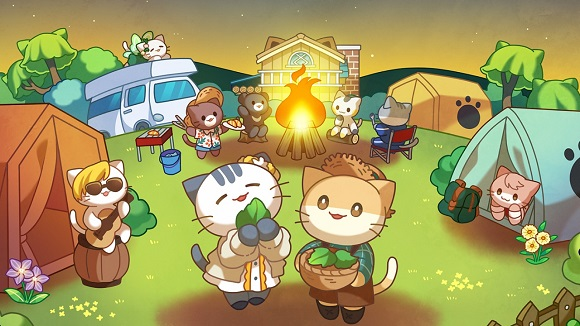 Cat Forest : Healing Camp - 猫咪森林:治愈露营[Android][$0.99→0]