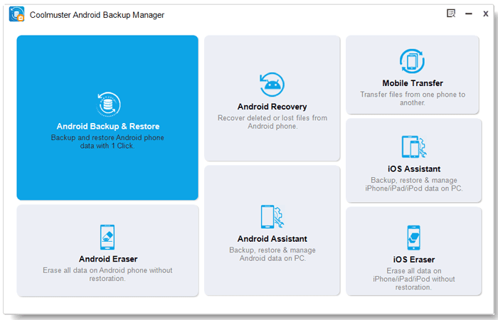 Coolmuster Android Backup Manager – 安卓备份工具[Windows][$19.95→0]